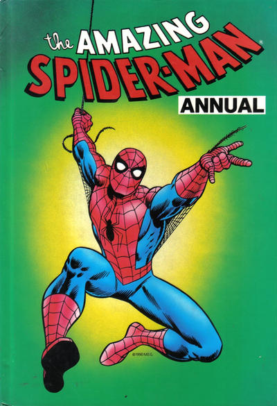 Cover for The Amazing Spider-Man Annual (Marvel UK, 1990 series) #1991