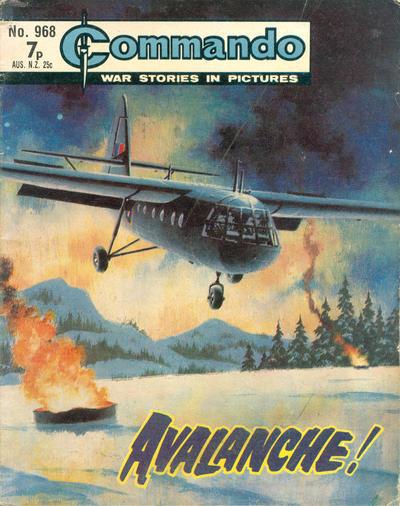 Cover for Commando (D.C. Thomson, 1961 series) #968