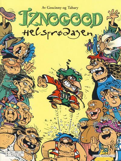 Cover for Iznogood (Hjemmet / Egmont, 1998 series) #6 - Helsprødagen [Reutsendelse]