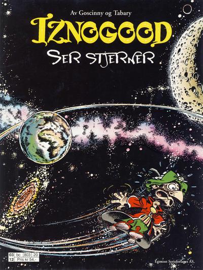 Cover for Iznogood (Hjemmet / Egmont, 1998 series) #7 - Iznogood ser stjerner [Reutsendelse]