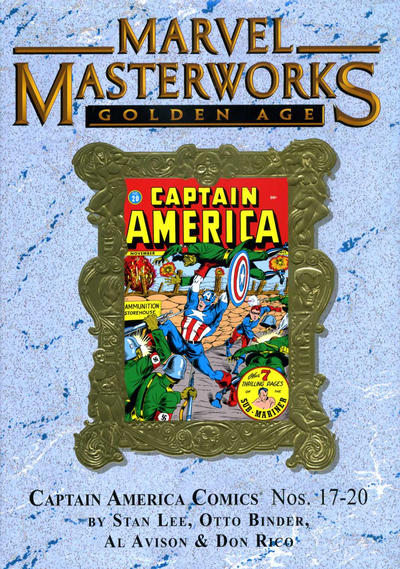 Cover for Marvel Masterworks: Golden Age Captain America (Marvel, 2005 series) #5 [Regular Edition]