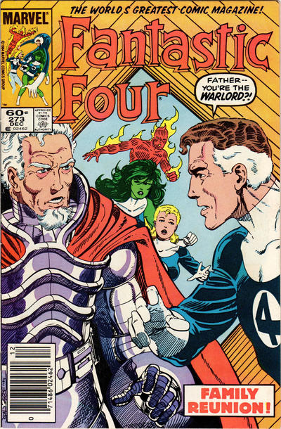Cover for Fantastic Four (Marvel, 1961 series) #273 [Newsstand Edition]