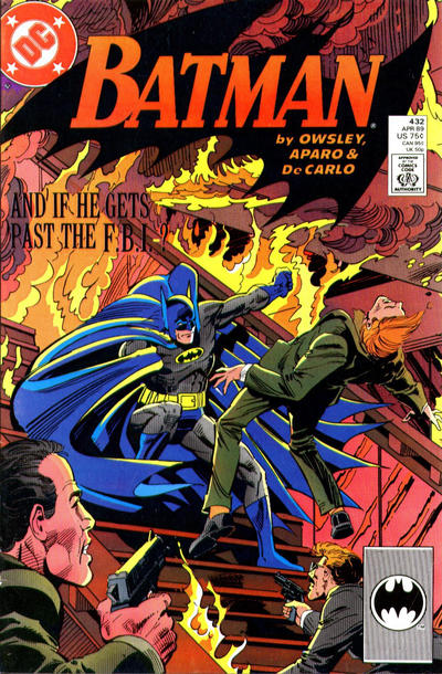 Cover for Batman (DC, 1940 series) #432 [Newsstand Variant]