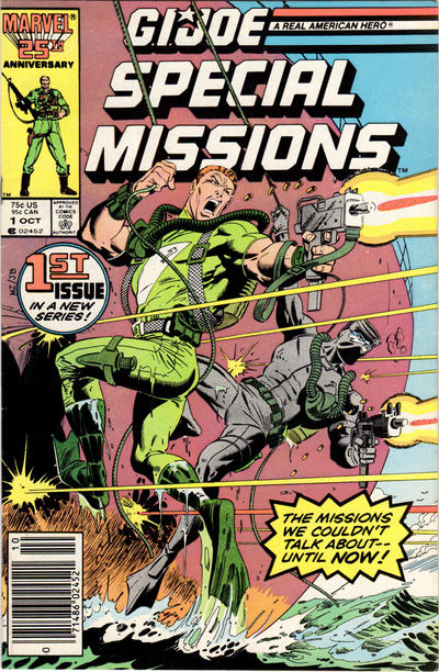 Cover for G.I. Joe Special Missions (Marvel, 1986 series) #1 [Newsstand Edition]