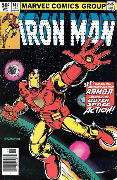 Cover for Iron Man (Marvel, 1968 series) #142 [Newsstand Edition]