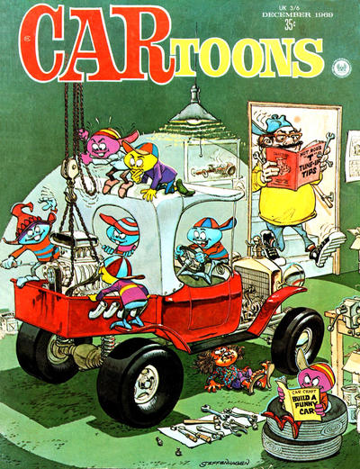 Cover for CARtoons (Petersen Publishing, 1961 series) #50