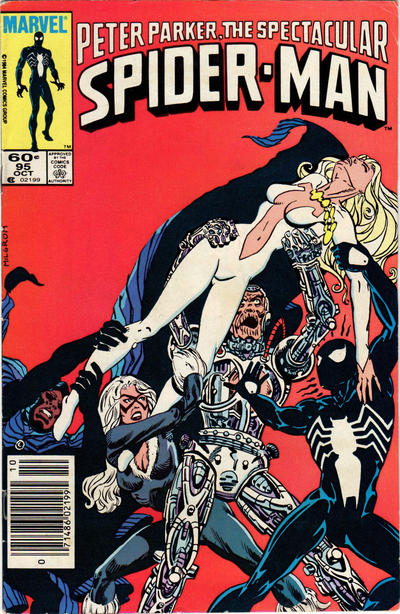 Cover for The Spectacular Spider-Man (Marvel, 1976 series) #95 [Direct Edition]