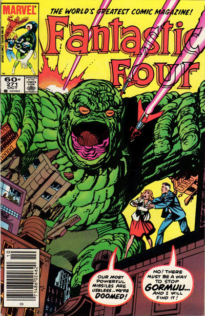 Cover for Fantastic Four (Marvel, 1961 series) #271 [Newsstand Edition]