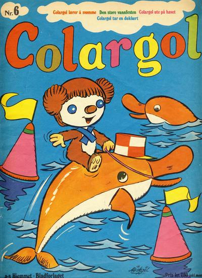 Cover for Colargol (Hjemmet / Egmont, 1976 series) #6