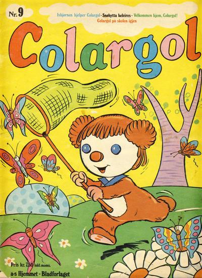 Cover for Colargol (Hjemmet / Egmont, 1976 series) #9