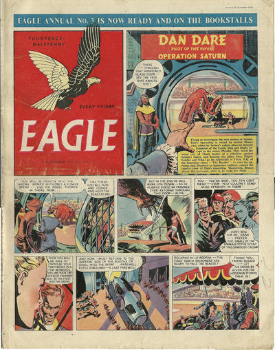 Cover for Eagle (Hulton Press, 1950 series) #v4#33