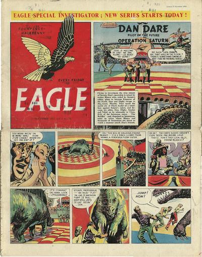 Cover for Eagle (Hulton Press, 1950 series) #v4#34