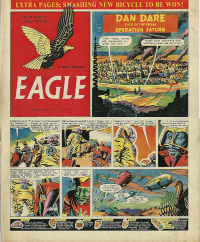 Cover for Eagle (Hulton Press, 1950 series) #v5#9