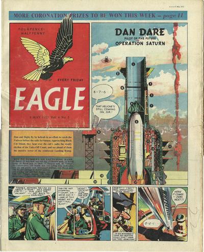 Cover for Eagle (Hulton Press, 1950 series) #v4#5