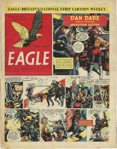 Cover for Eagle (Hulton Press, 1950 series) #v4#11