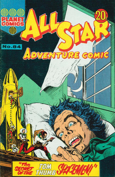Cover for All Star Adventure Comic (K. G. Murray, 1959 series) #84