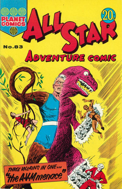 Cover for All Star Adventure Comic (K. G. Murray, 1959 series) #83