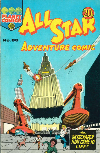 Cover for All Star Adventure Comic (K. G. Murray, 1959 series) #88