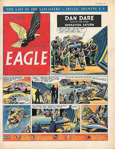 Cover for Eagle (Hulton Press, 1950 series) #v5#6