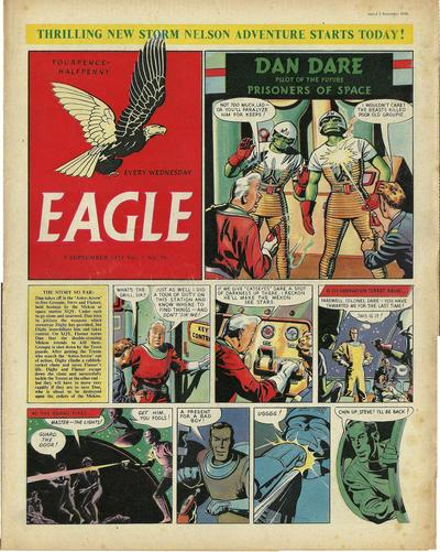 Cover for Eagle (Hulton Press, 1950 series) #v5#36