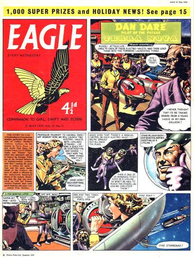Cover for Eagle (Longacre Press, 1959 series) #v10#21