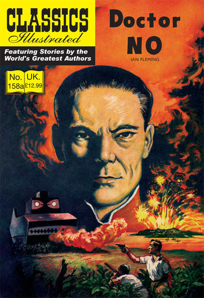 Cover for Classics Illustrated (UK) (Classic Comic Store, 2011 series) #158A - Doctor No [9.99 GBP]