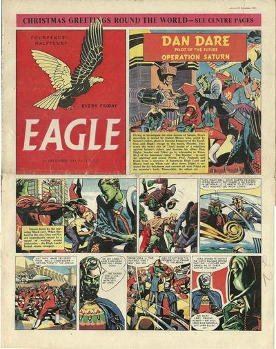Cover for Eagle (Hulton Press, 1950 series) #v4#37