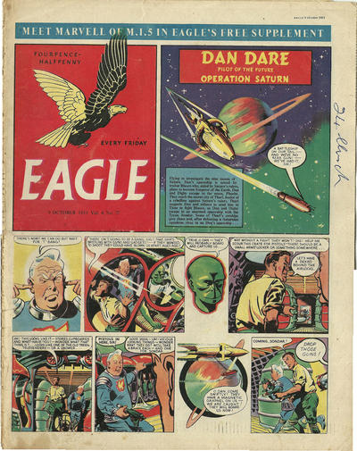 Cover for Eagle (Hulton Press, 1950 series) #v4#27