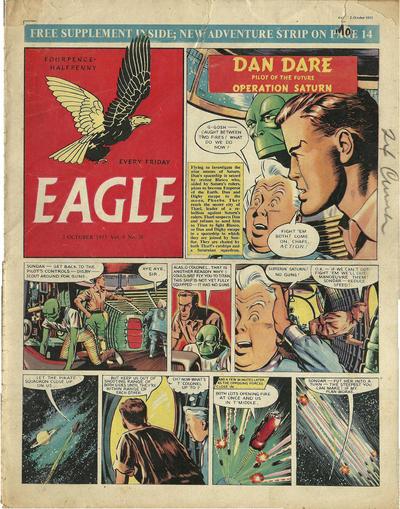 Cover for Eagle (Hulton Press, 1950 series) #v4#26