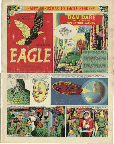 Cover for Eagle (Hulton Press, 1950 series) #v4#38