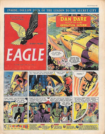 Cover for Eagle (Hulton Press, 1950 series) #v5#8