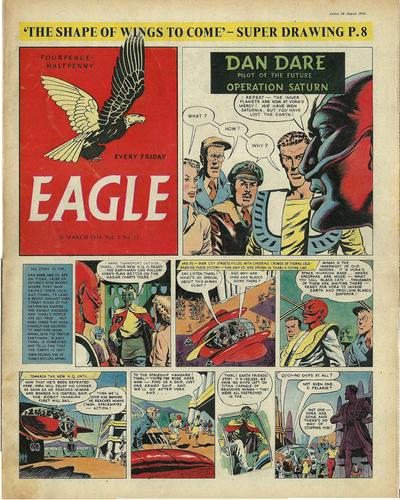 Cover for Eagle (Hulton Press, 1950 series) #v5#13