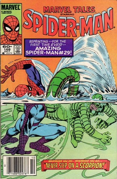 Cover for Marvel Tales (Marvel, 1966 series) #168 [Direct]