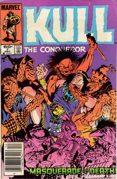Cover for Kull the Conqueror (Marvel, 1983 series) #7 [Newsstand Edition]