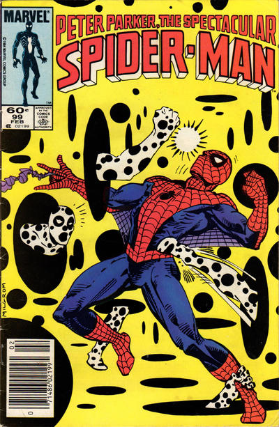 Cover for The Spectacular Spider-Man (Marvel, 1976 series) #99 [Newsstand Edition]