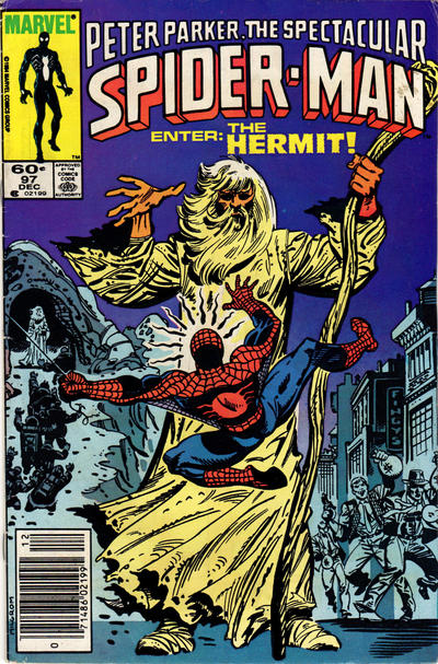 Cover for The Spectacular Spider-Man (Marvel, 1976 series) #97 [Newsstand Edition]