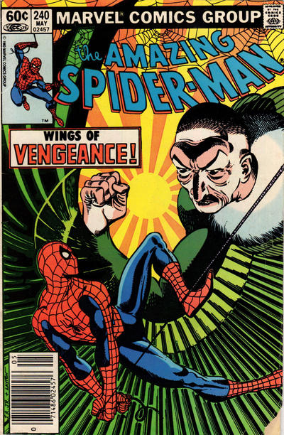 Cover for The Amazing Spider-Man (Marvel, 1963 series) #240 [Direct Edition]