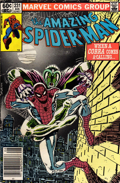Cover for The Amazing Spider-Man (Marvel, 1963 series) #231 [Newsstand]