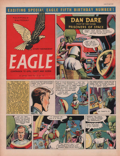 Cover for Eagle (Hulton Press, 1950 series) #v6#15