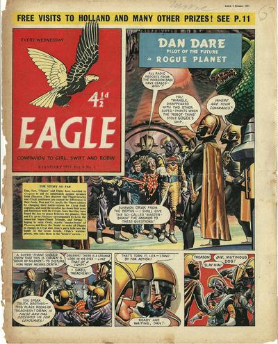 Cover for Eagle (Hulton Press, 1950 series) #v8#1