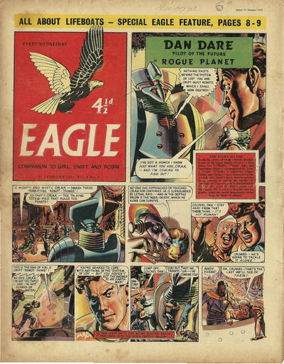Cover for Eagle (Hulton Press, 1950 series) #v8#2