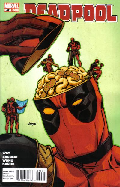 Cover for Deadpool (Marvel, 2008 series) #42