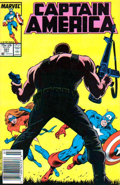 Cover for Captain America (Marvel, 1968 series) #331 [Direct]