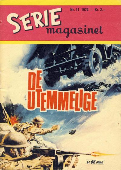Cover for Seriemagasinet (Serieforlaget / Se-Bladene / Stabenfeldt, 1951 series) #11/1972