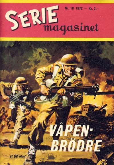 Cover for Seriemagasinet (Serieforlaget / Se-Bladene / Stabenfeldt, 1951 series) #10/1972