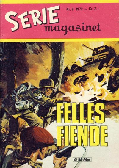 Cover for Seriemagasinet (Serieforlaget / Se-Bladene / Stabenfeldt, 1951 series) #8/1972