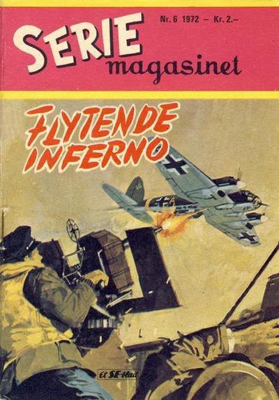 Cover for Seriemagasinet (Serieforlaget / Se-Bladene / Stabenfeldt, 1951 series) #6/1972