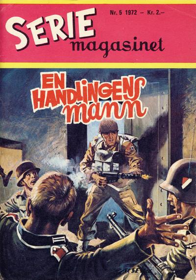Cover for Seriemagasinet (Serieforlaget / Se-Bladene / Stabenfeldt, 1951 series) #5/1972