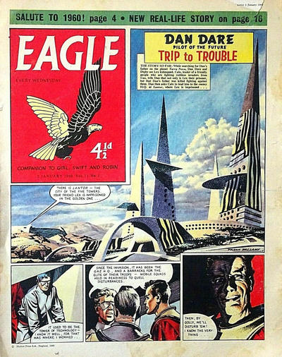 Cover for Eagle (Longacre Press, 1959 series) #v11#1