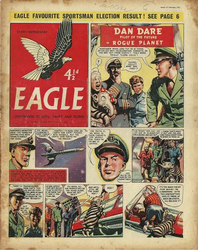 Cover for Eagle (Hulton Press, 1950 series) #v8#7